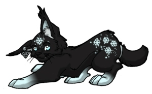 Stylized celtic lynx customized for use in Gaia Online